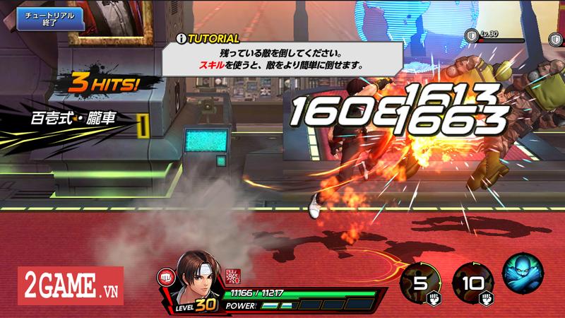 Đánh giá The King Of Fighters All Star Mobile: Đánh đấm cực phê, đúng chất game thùng 3