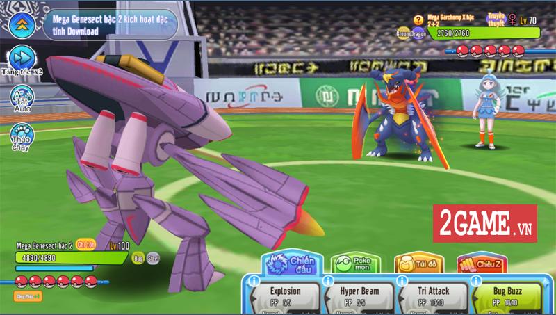 Liên Quân Poke không chỉ đẹp mà còn là sàn đấu Pokemon vô cùng căng thẳng nữa 3