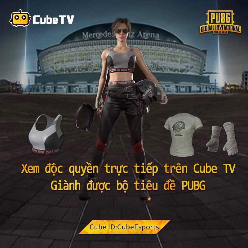 Giải đấu Vietnam Masters Championship Presented by CubeTV - Nơi tiếp lửa đam mê cho game thủ PUBG 1