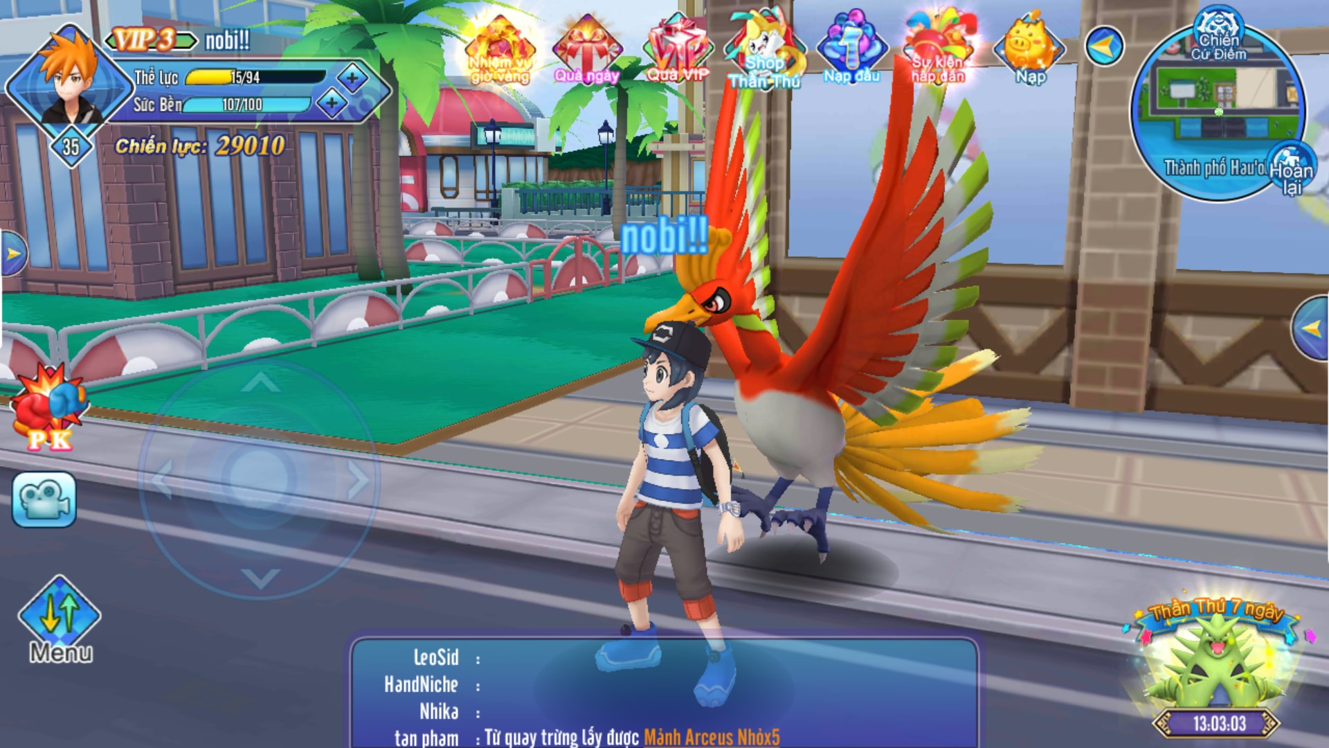 Liên Quân Poke chính là game bắt Pokemon thế giới mở đầu tiên ở Việt Nam 2