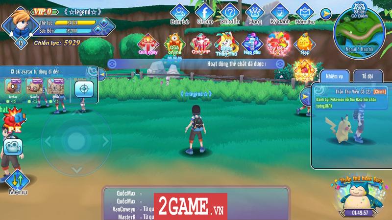 Liên Quân Poke chính là game bắt Pokemon thế giới mở đầu tiên ở Việt Nam 0