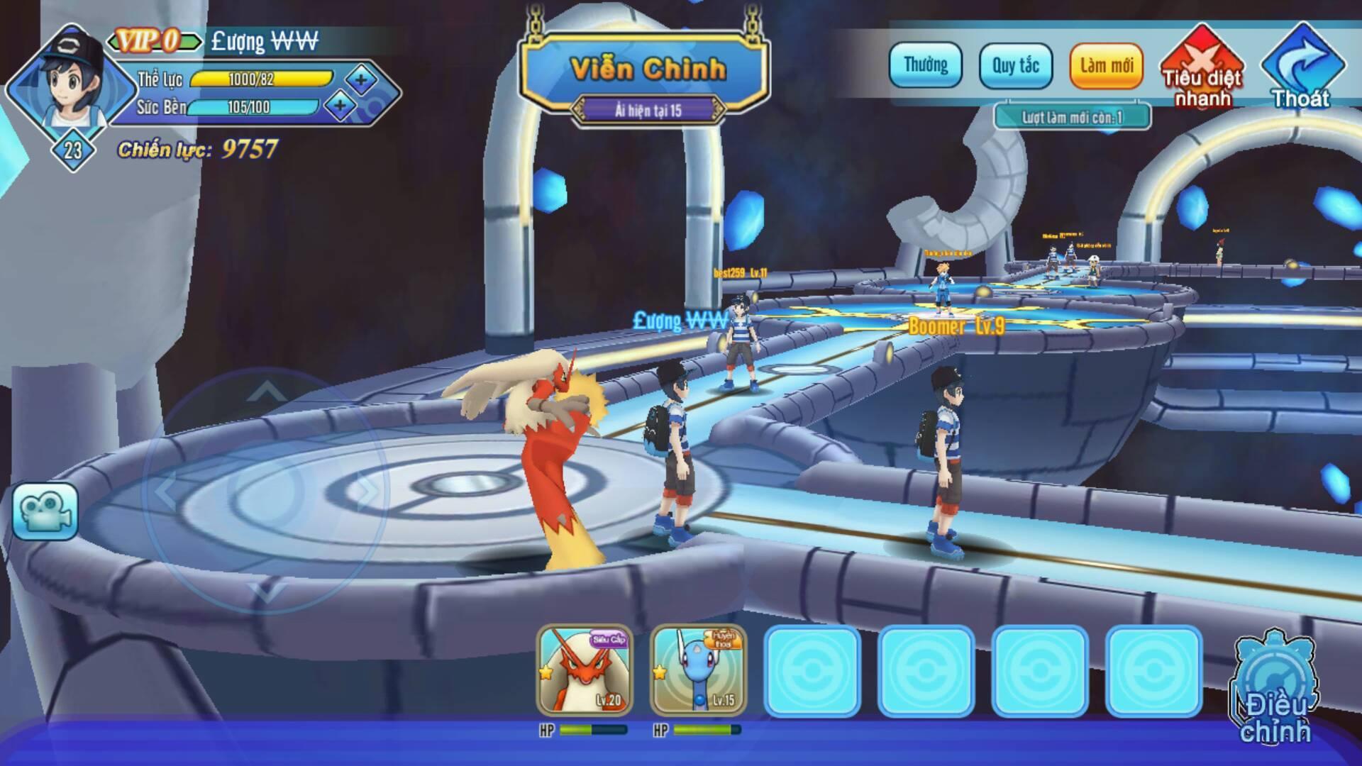 Liên Quân Poke chính là game bắt Pokemon thế giới mở đầu tiên ở Việt Nam 3