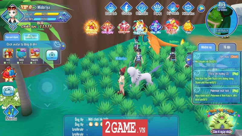 Liên Quân Poke chính là game bắt Pokemon thế giới mở đầu tiên ở Việt Nam 1