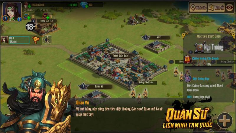Quân Sư Liên Minh Tam Quốc - Game chiến thuật dàn binh chiến tướng cập bến Việt Nam 5