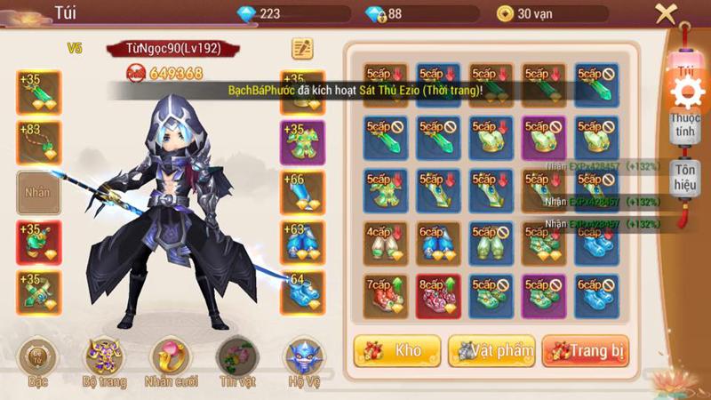Linh Kiếm Tình Duyên tặng số lượng lớn Kim Nguyên Bảo cho người chơi nhân dịp Alpha Test 3