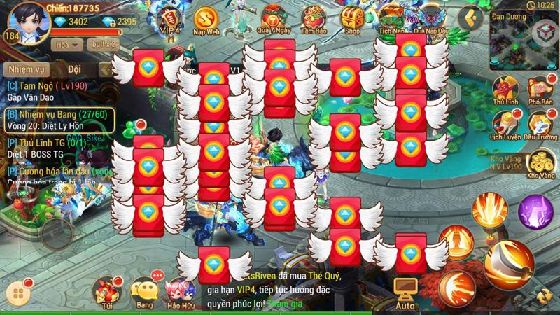 Linh Kiếm Tình Duyên tặng số lượng lớn Kim Nguyên Bảo cho người chơi nhân dịp Alpha Test 4