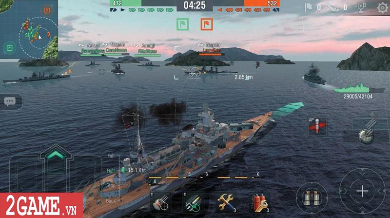 Top 5 game Thủy chiến chất lượng dành cho các tín đồ mê mô hình Chiến hạm 2