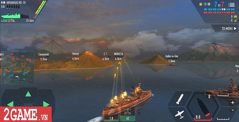 Top 5 game Thủy chiến chất lượng dành cho các tín đồ mê mô hình Chiến hạm 4