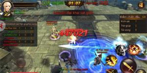 Fantasy Blade – MMORPG 3D tuyệt đẹp cho phép người chơi tùy ý thay đổi vũ khí sử dụng cho nhân vật