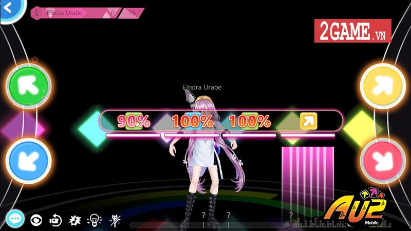 AU 2! Mobile - Tựa game vũ đạo chuẩn style Audition, cho phép bạn quẩy cực phiêu với âm nhạc sôi động 3