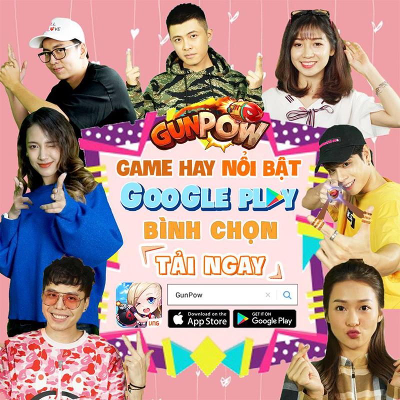 GunPow vinh dự lọt vào Top Game Hay do Google Play bình chọn đợt mới nhất 2
