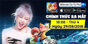 360mobi Cờ Tỷ Phú chính thức ra mắt game thủ Việt đi kèm nhiều quà tặng hấp dẫn