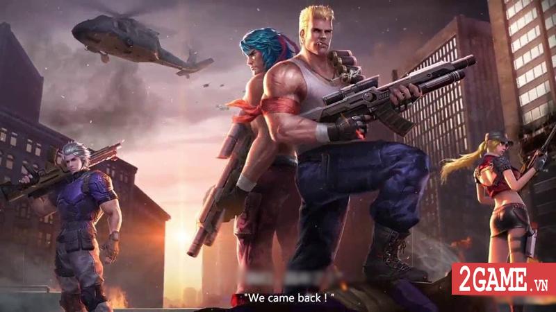 Garena Contra: Return ra mắt bản Quốc tế, sẽ có gói ngôn ngữ tiếng Việt 0