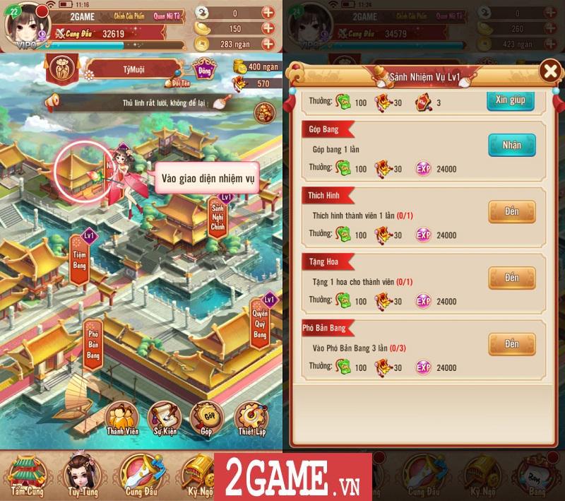 Trải nghiệm 360mobi Mộng Hoàng Cung: Lối chơi đơn giản, cốt truyện hấp dẫn, đồ họa đẹp mắt 13
