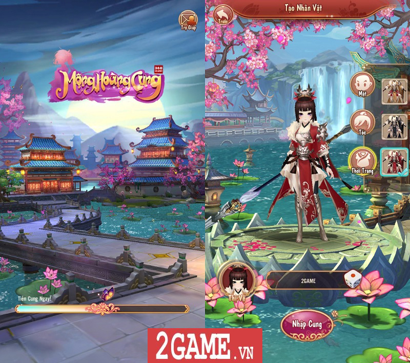 Trải nghiệm 360mobi Mộng Hoàng Cung: Lối chơi đơn giản, cốt truyện hấp dẫn, đồ họa đẹp mắt 1
