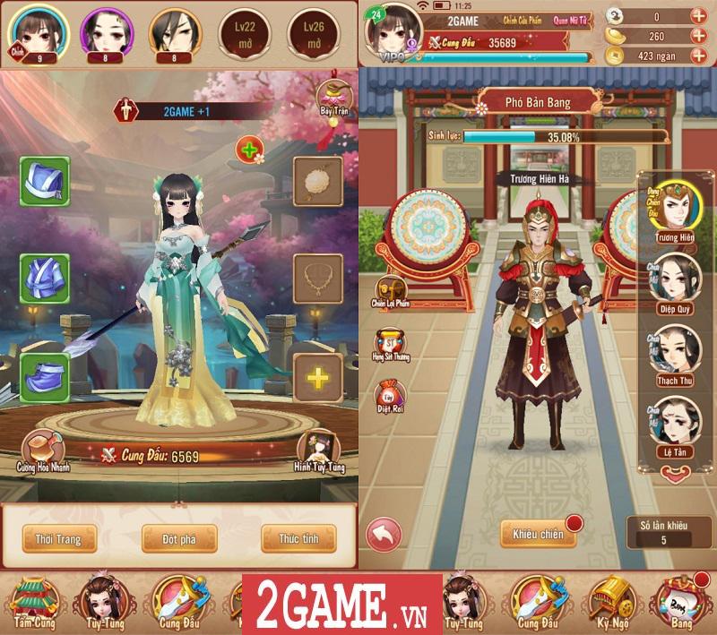 Trải nghiệm 360mobi Mộng Hoàng Cung: Lối chơi đơn giản, cốt truyện hấp dẫn, đồ họa đẹp mắt 12