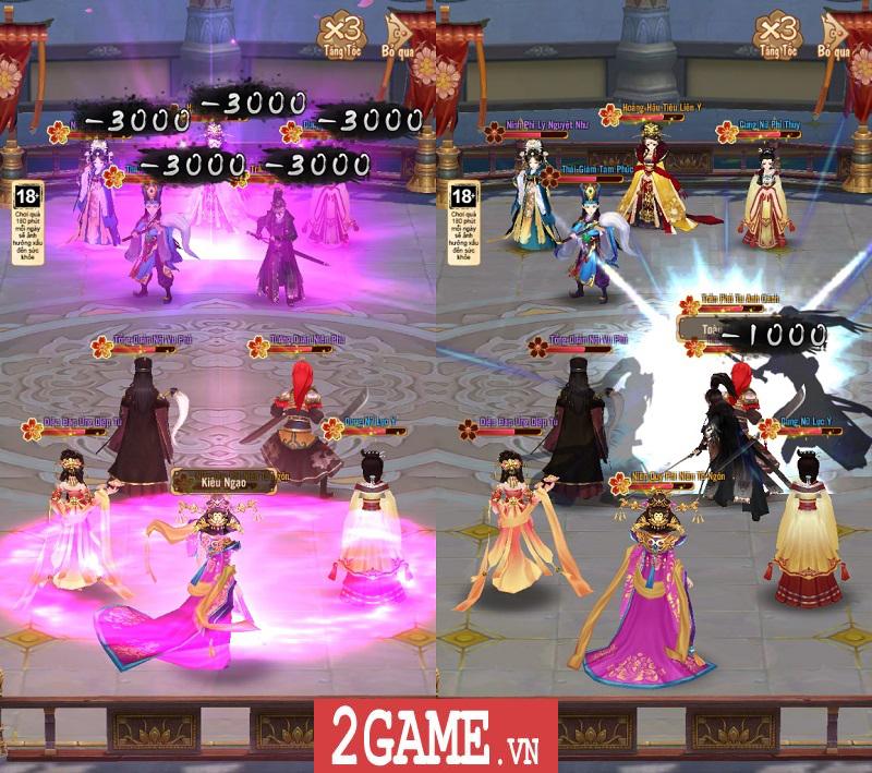 Trải nghiệm 360mobi Mộng Hoàng Cung: Lối chơi đơn giản, cốt truyện hấp dẫn, đồ họa đẹp mắt 4