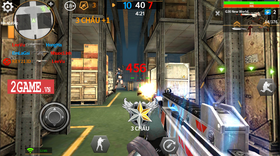 Tốc Chiến Mobile hé lộ loạt ảnh Việt hóa phô diễn chất chơi bắn súng săn zombie cực chất 2