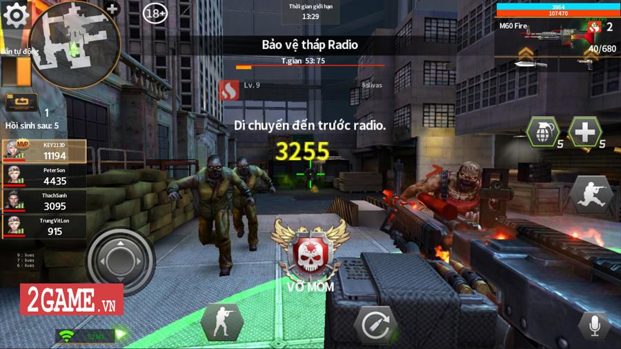 Tốc Chiến Mobile hé lộ loạt ảnh Việt hóa phô diễn chất chơi bắn súng săn zombie cực chất 0