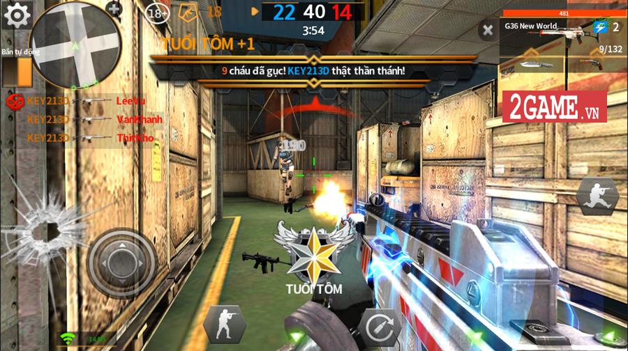 Khi game bắn súng Tốc Chiến Mobile sở hữu hệ thống lên đồ như dòng game nhập vai 0