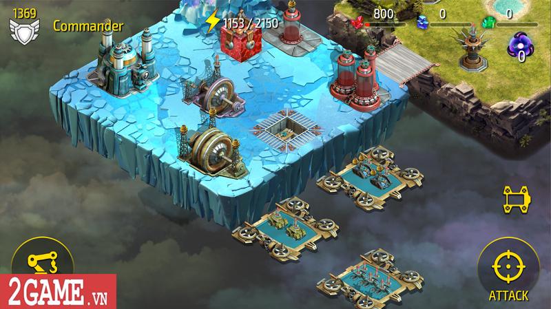 Modularis - Game chiến thuật tập trung vào mảng xây dựng cơ sở trên bản đồ 0