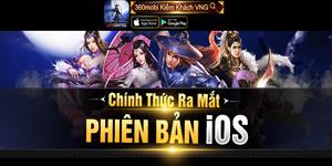 360mobi Kiếm Khách VNG ra mắt bản iOS sau gần 3 tháng có mặt trên thị trường game Việt