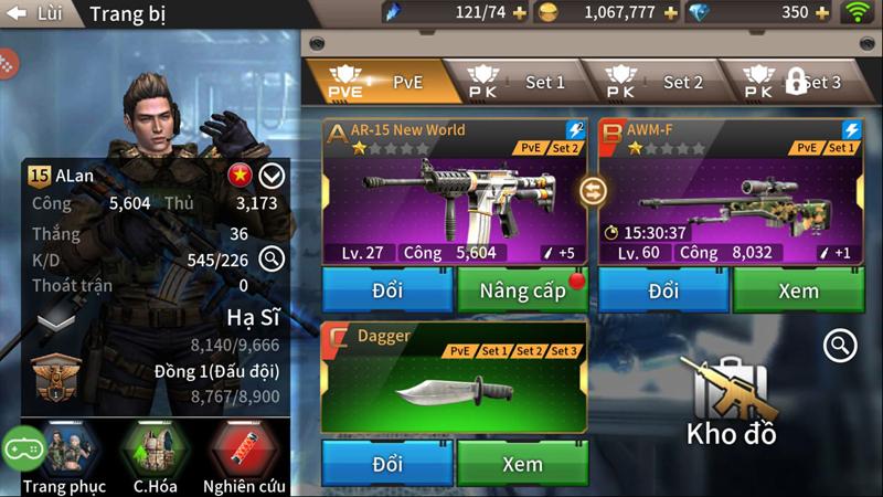 Khi game bắn súng Tốc Chiến Mobile sở hữu hệ thống lên đồ như dòng game nhập vai 4