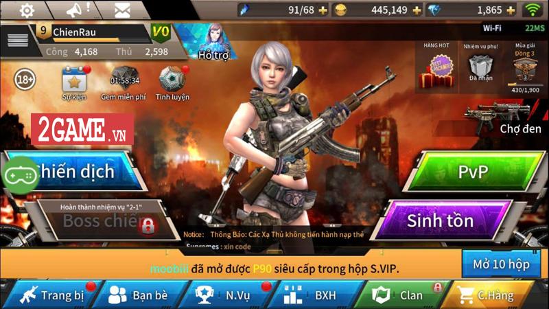 Khi game bắn súng Tốc Chiến Mobile sở hữu hệ thống lên đồ như dòng game nhập vai 6