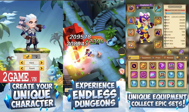 Top 7 game nhập vai chơi theo kiểu màn hình dọc vô cùng tiện lợi 5