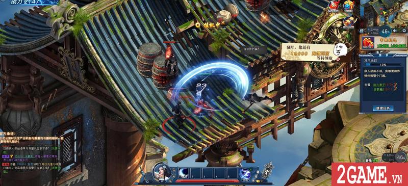 Webgame Nghịch Thủy Hàn hé lộ gameplay, công bố ngày ra game chớp nhoáng 1