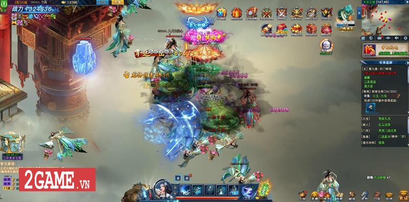 Webgame Nghịch Thủy Hàn hé lộ gameplay, công bố ngày ra game chớp nhoáng 7