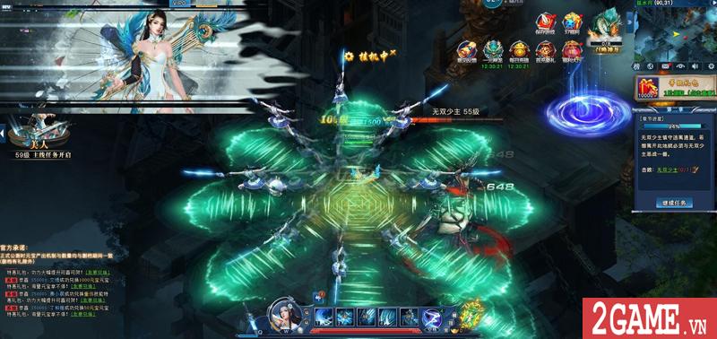 Webgame Nghịch Thủy Hàn hé lộ gameplay, công bố ngày ra game chớp nhoáng 10
