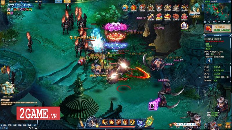 Webgame Nghịch Thủy Hàn hé lộ gameplay, công bố ngày ra game chớp nhoáng 5
