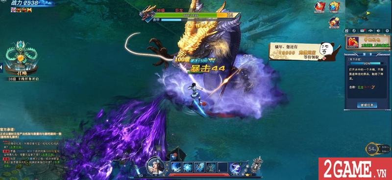 Webgame Nghịch Thủy Hàn hé lộ gameplay, công bố ngày ra game chớp nhoáng 2