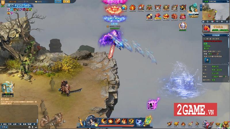 Webgame Nghịch Thủy Hàn hé lộ gameplay, công bố ngày ra game chớp nhoáng 4