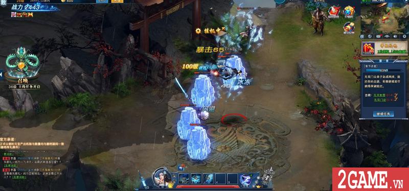 Webgame Nghịch Thủy Hàn hé lộ gameplay, công bố ngày ra game chớp nhoáng 9