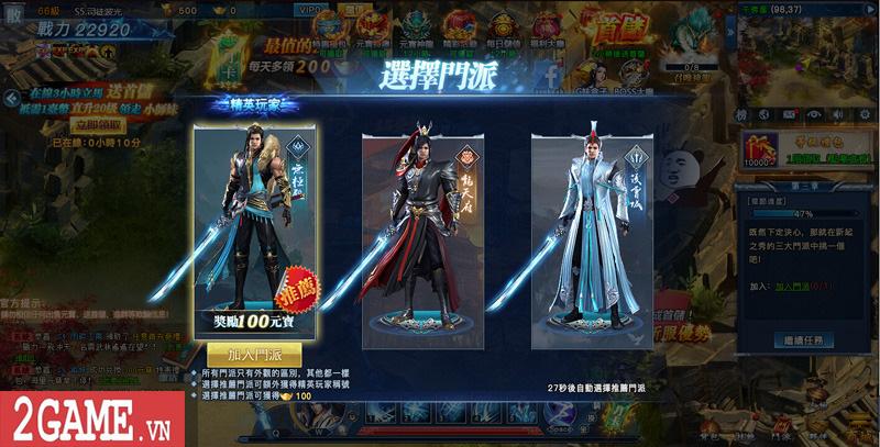 Cảm nhận webgame Nghịch Thủy Hàn: Game nhập vai cho phép hoán đổi vũ khí combo skill PK cực chất 5