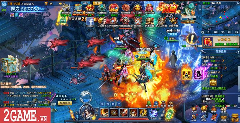 Cảm nhận webgame Nghịch Thủy Hàn: Game nhập vai cho phép hoán đổi vũ khí combo skill PK cực chất 2