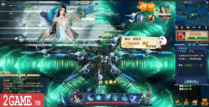 Cảm nhận webgame Nghịch Thủy Hàn: Game nhập vai cho phép hoán đổi vũ khí combo skill PK cực chất 11