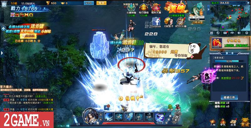 Cảm nhận webgame Nghịch Thủy Hàn: Game nhập vai cho phép hoán đổi vũ khí combo skill PK cực chất 10