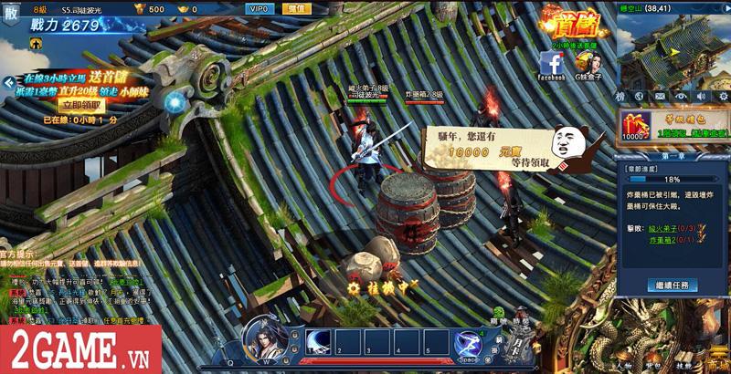 Cảm nhận webgame Nghịch Thủy Hàn: Game nhập vai cho phép hoán đổi vũ khí combo skill PK cực chất 7