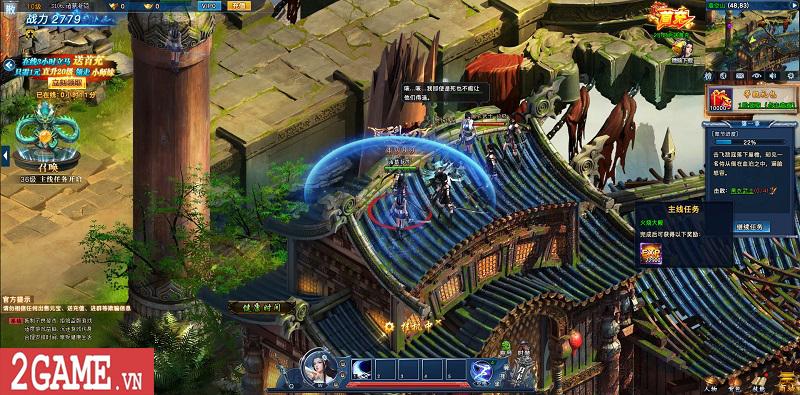 Cảm nhận webgame Nghịch Thủy Hàn: Game nhập vai cho phép hoán đổi vũ khí combo skill PK cực chất 1