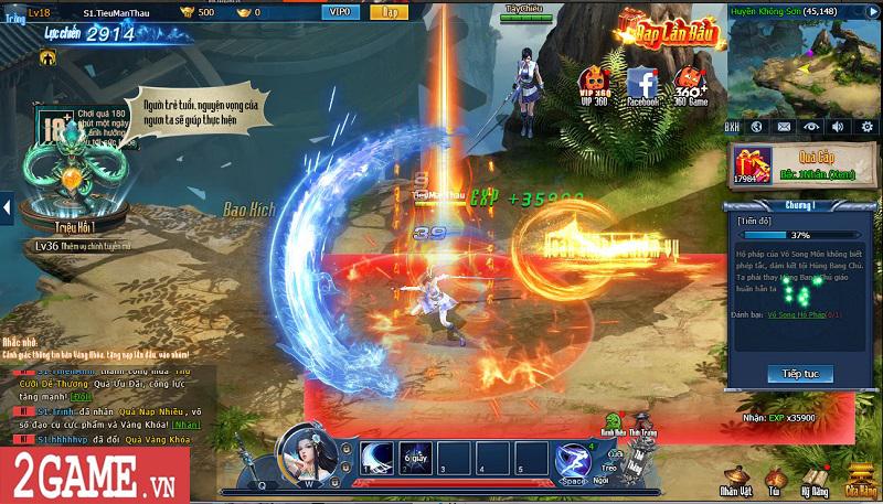 Choáng ngợp với gameplay đồ sộ hỗ trợ tối đa việc phát triển nhân vật trong webgame Nghịch Thủy Hàn 1