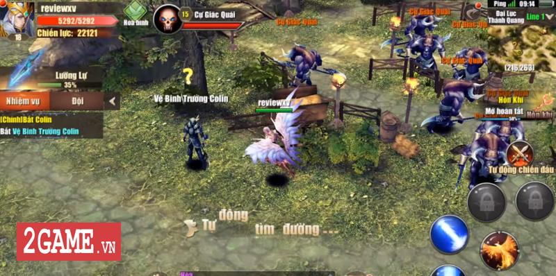 Đại Thiên Sứ Mobile - Thêm một dự án game về đề tài MU Online cập bến Việt Nam 5