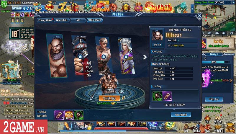 Choáng ngợp với gameplay đồ sộ hỗ trợ tối đa việc phát triển nhân vật trong webgame Nghịch Thủy Hàn 19
