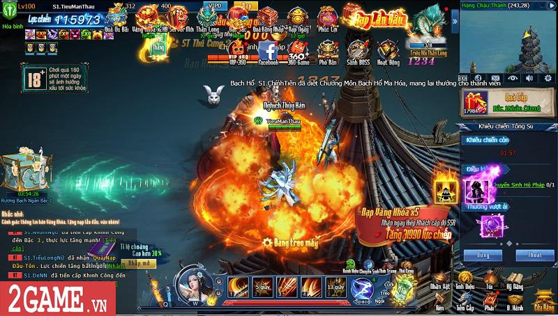 Choáng ngợp với gameplay đồ sộ hỗ trợ tối đa việc phát triển nhân vật trong webgame Nghịch Thủy Hàn 7