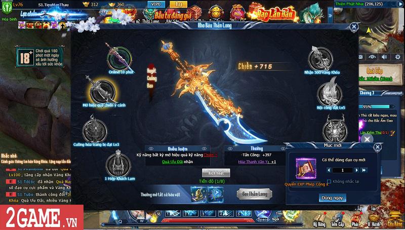 Choáng ngợp với gameplay đồ sộ hỗ trợ tối đa việc phát triển nhân vật trong webgame Nghịch Thủy Hàn 13