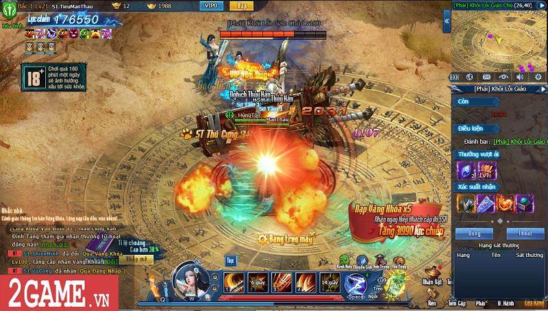 Choáng ngợp với gameplay đồ sộ hỗ trợ tối đa việc phát triển nhân vật trong webgame Nghịch Thủy Hàn 15
