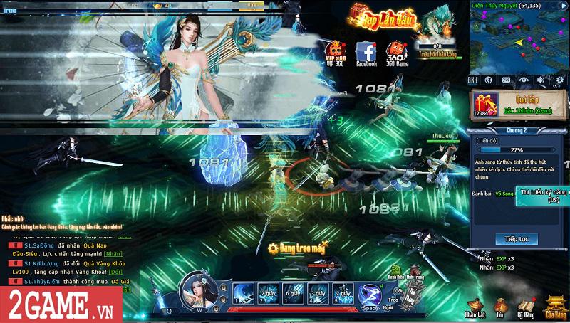 Choáng ngợp với gameplay đồ sộ hỗ trợ tối đa việc phát triển nhân vật trong webgame Nghịch Thủy Hàn 5