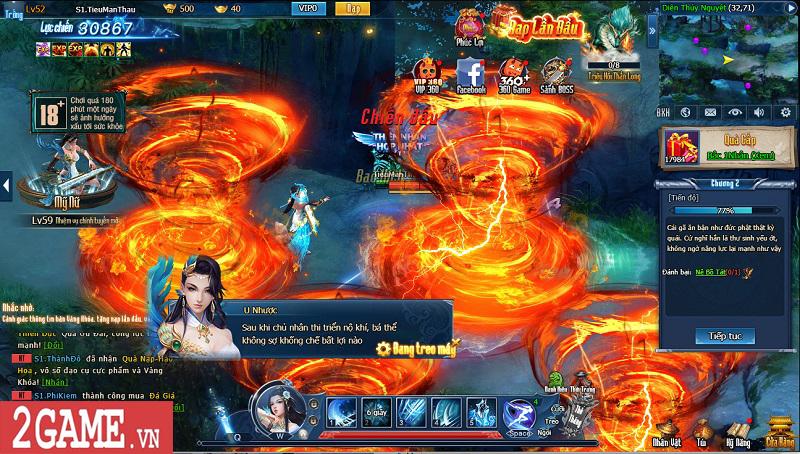 Choáng ngợp với gameplay đồ sộ hỗ trợ tối đa việc phát triển nhân vật trong webgame Nghịch Thủy Hàn 6